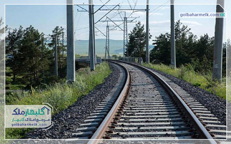 پیشرفت 70 درصدی قطار مشهد گلبهار