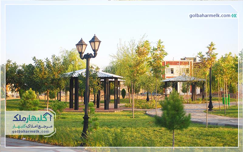 پارک خورشید محله 10 گلبهار