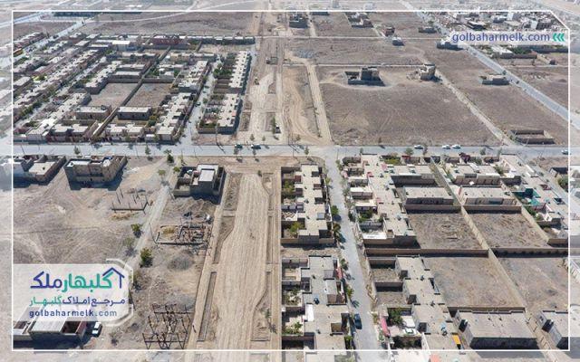 عملیات احداث پارک محله 8 گلبهار