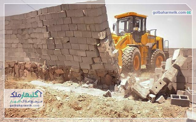 هشدار جهاد کشاورزی به تغییر کاربری و ساخت و سازهای غیرمجاز در چناران و گلبهار